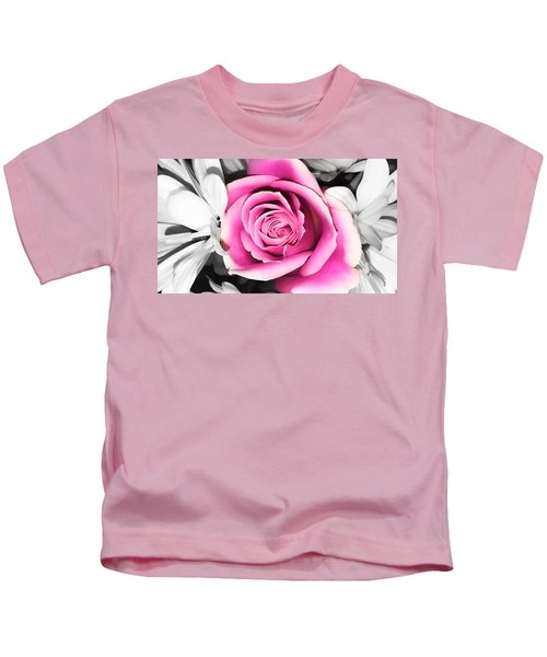 Hypnotic Pink 2 Kids T-Shirt