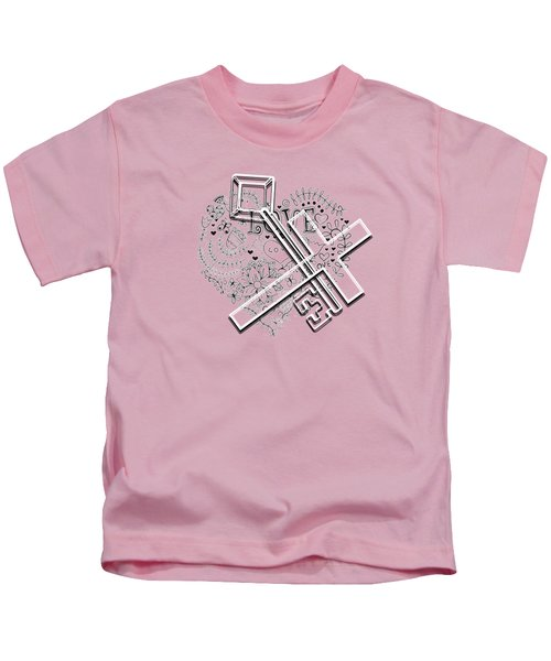 I Give You The Key Of My Heart Kids T-Shirt