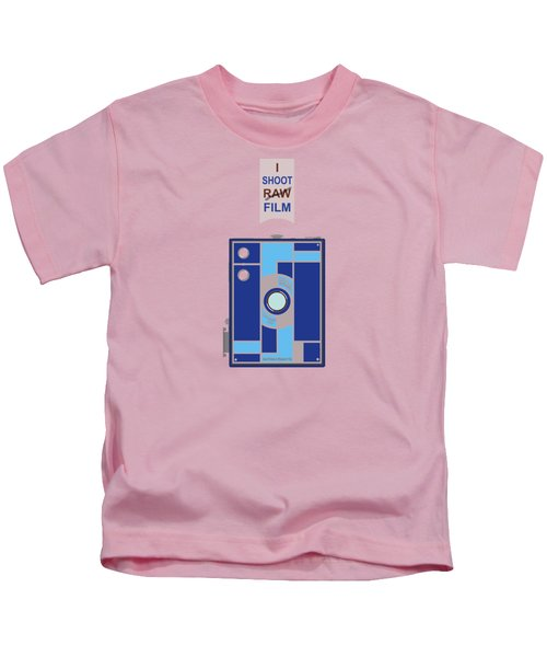I Shoot Film Kids T-Shirt