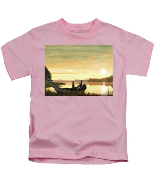 Idylls Of The King Kids T-Shirt