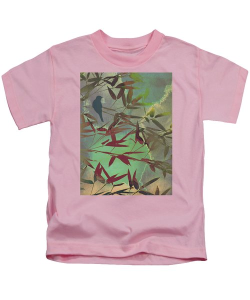 In The Bamboo Forest Kids T-Shirt by AugenWerk Susann Serfezi