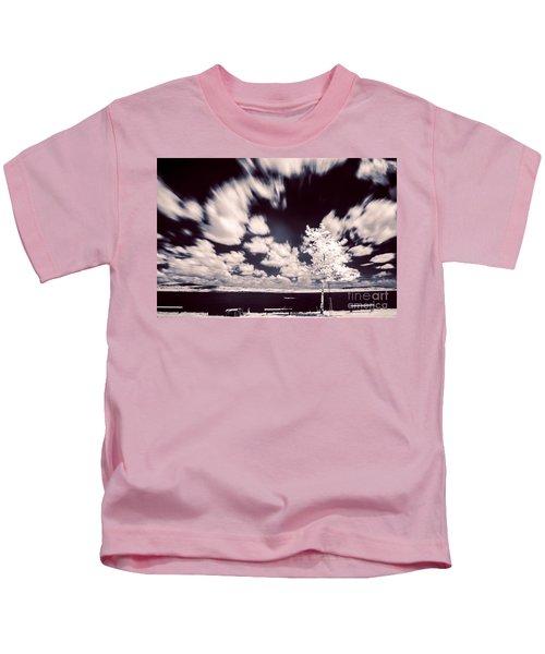 Infrared Lake Kids T-Shirt