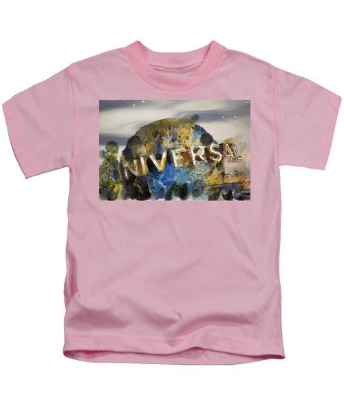 It's A Universal Kind Of Day Kids T-Shirt