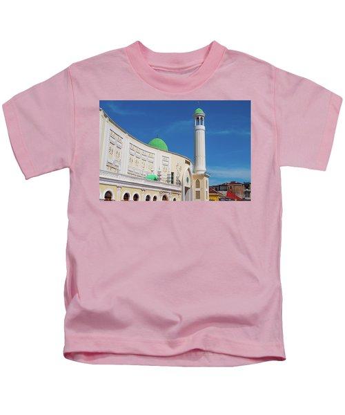 Jumma Mosque Wide Kids T-Shirt