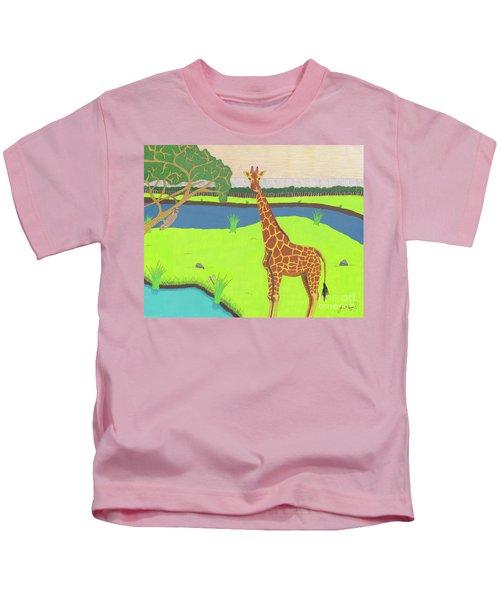 Keeping A Lookout Kids T-Shirt