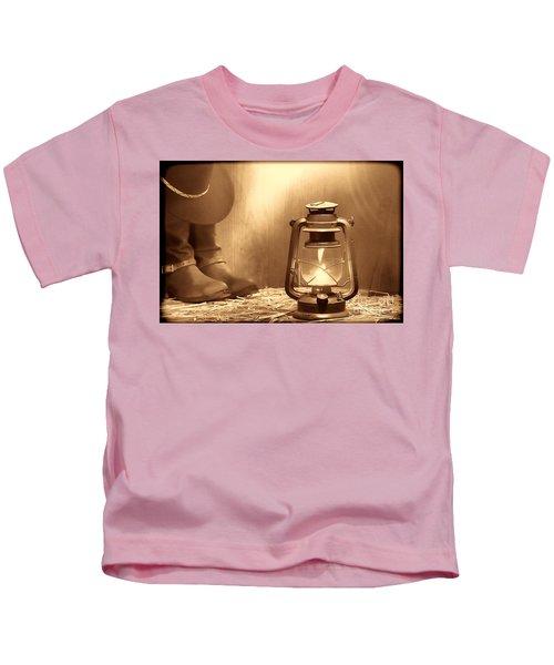 Kerosene Lamp Kids T-Shirt