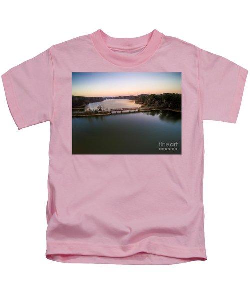 Lake Purdy At Grants Mill Kids T-Shirt