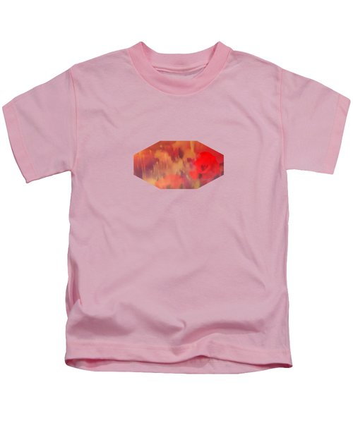 Landscape Of Dreaming Poppies Kids T-Shirt