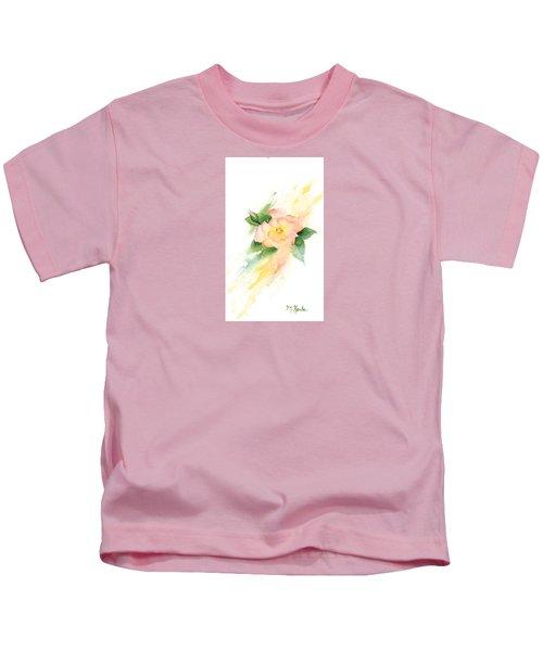 Last Rose Of Summer Kids T-Shirt