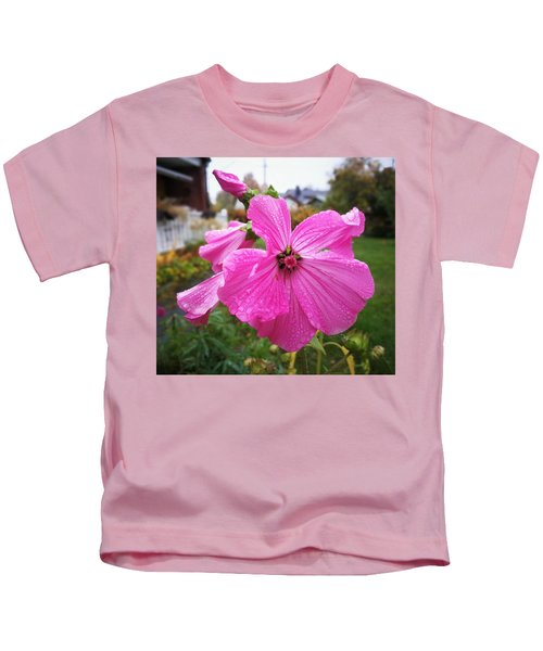 Lavatera Flower Kids T-Shirt