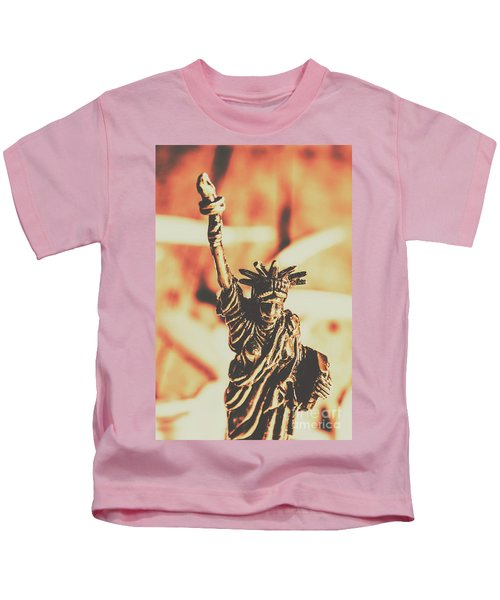Liberty Will Enlighten The World Kids T-Shirt