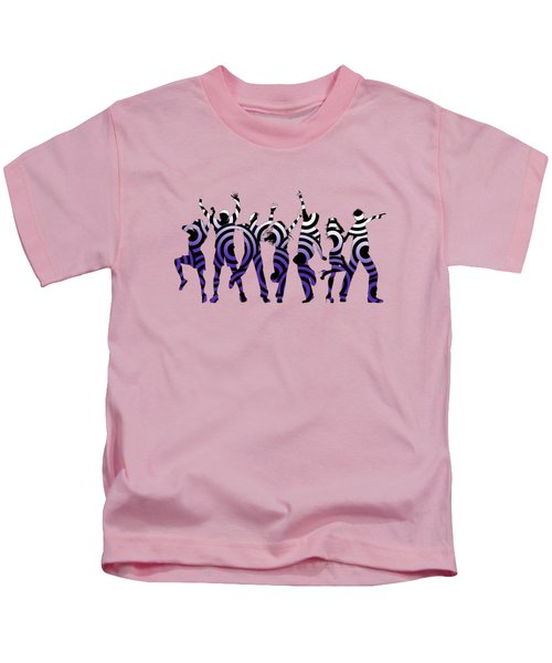 Life Of The Party Ultraviolet Kids T-Shirt