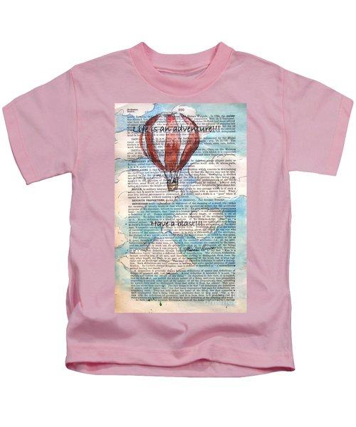 Hope Floats - Rise Above It Kids T-Shirt