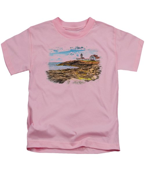 Light On The Sea Kids T-Shirt