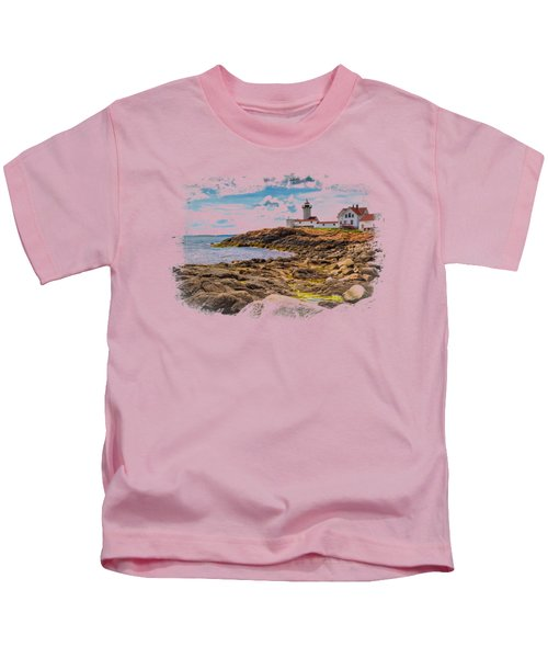 Light On The Sea Kids T-Shirt