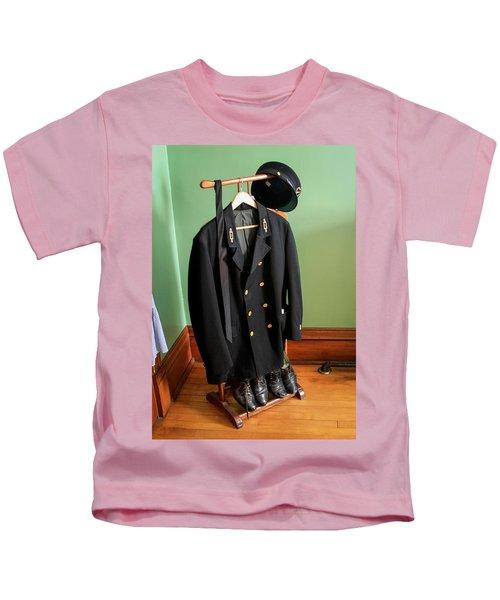 Lighthouse Keeper Uniform Kids T-Shirt
