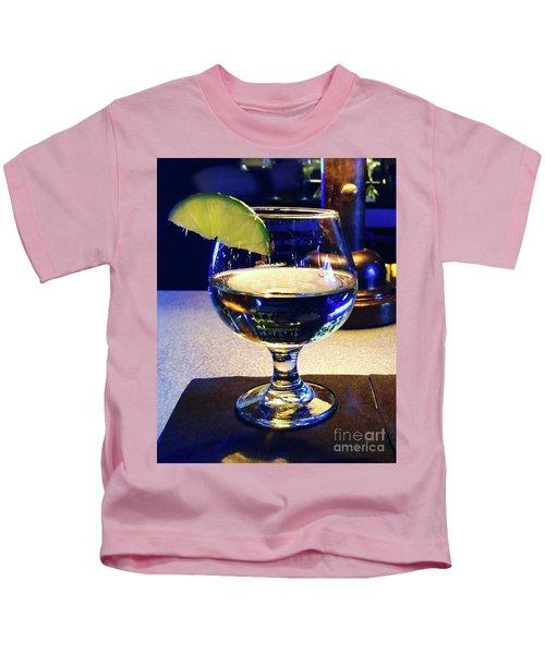 Liquid Sunshine Kids T-Shirt by Megan Cohen