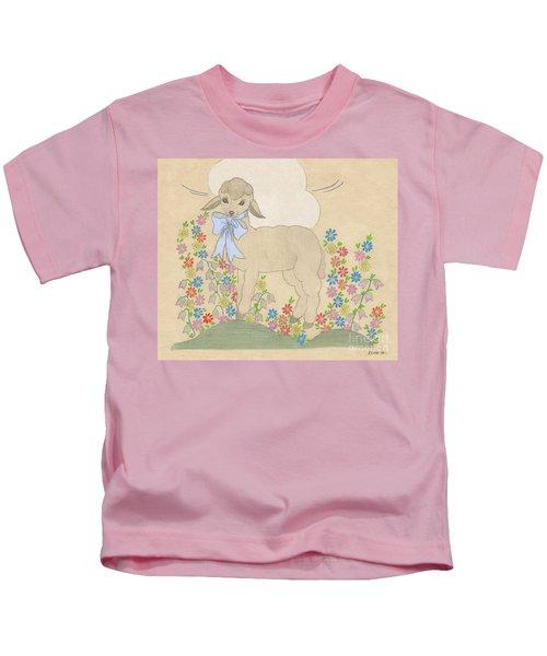 Little Lamb Lightened Kids T-Shirt
