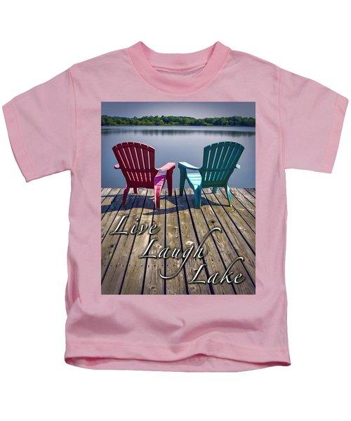 Live Laugh Lake Kids T-Shirt