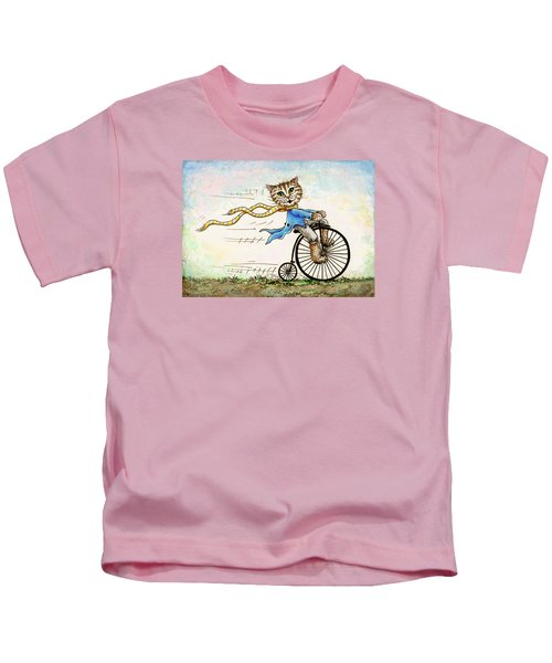 Living Flamboyantly Kids T-Shirt