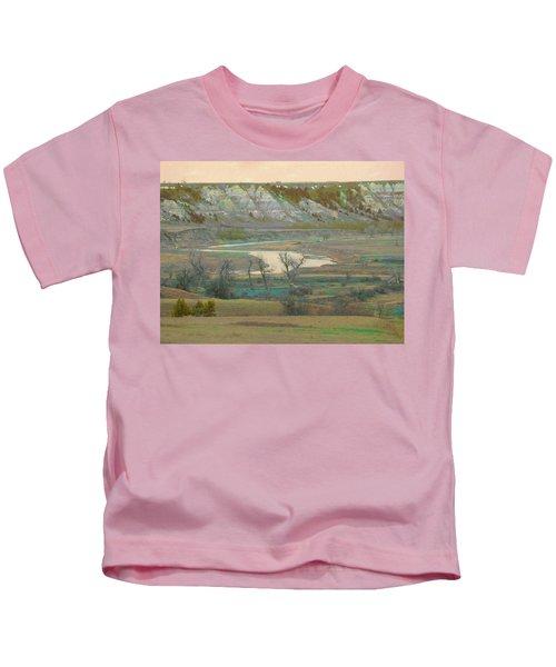 Logging Camp River Reverie Kids T-Shirt