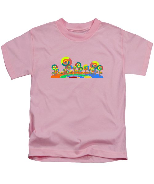 Lollypop Island Kids T-Shirt