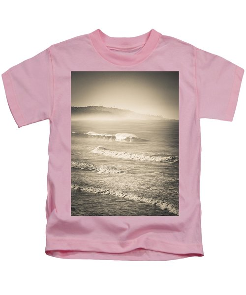 Lonely Winter Waves Kids T-Shirt
