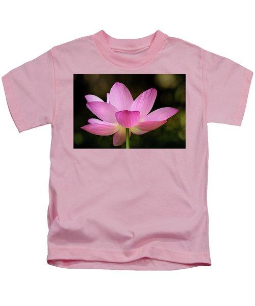 Lotus At The National Zoo Kids T-Shirt