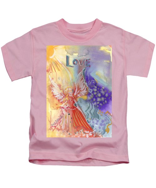 Love Angel Kids T-Shirt