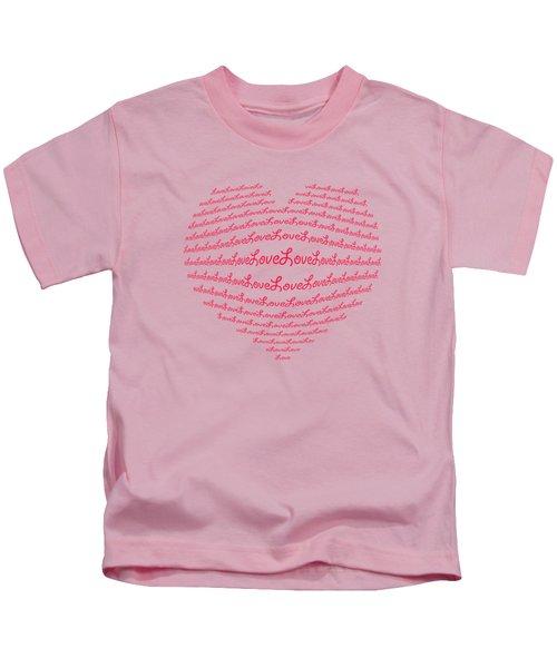 Love Boom Kids T-Shirt