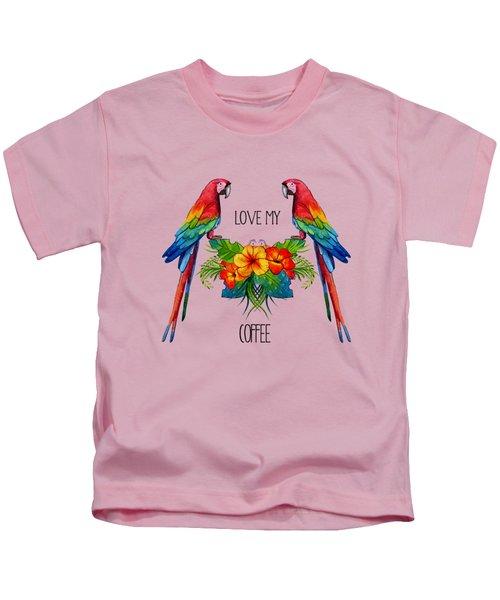 Love My Coffee Kids T-Shirt