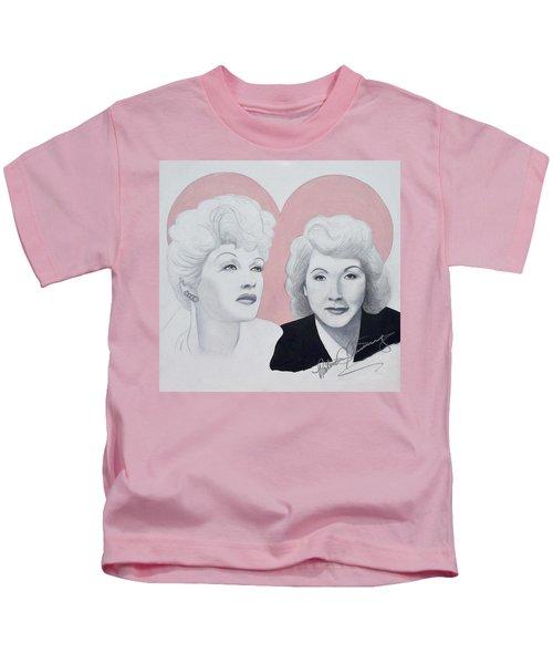 Lucille And Vivian Kids T-Shirt