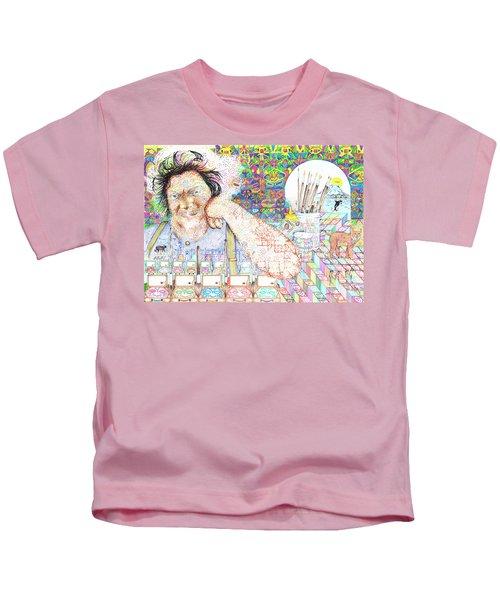 Maestro- Alfredo Arreguin Kids T-Shirt