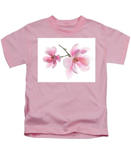 Magnolia Is The Harbinger Of Spring. Kids T-Shirt