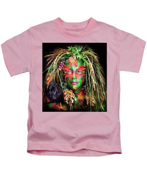 Maiden Of Earth Kids T-Shirt