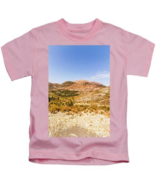 Majestic Arid Peaks Kids T-Shirt