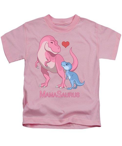 Mama Tyrannosaurus Rex Baby Boy Kids T-Shirt