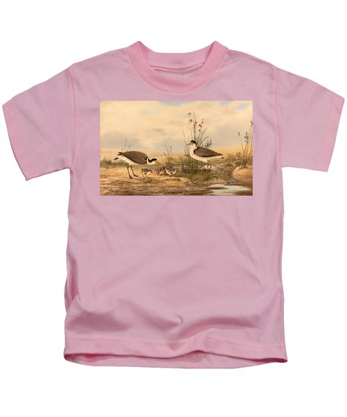 Masked Lapwing Kids T-Shirt by Mountain Dreams