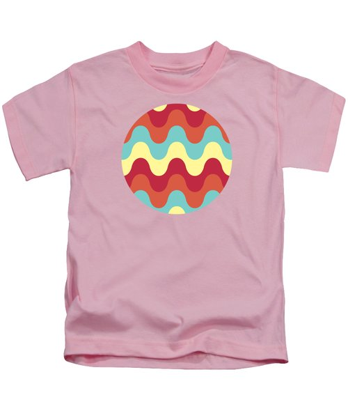 Melting Colors Pattern Kids T-Shirt