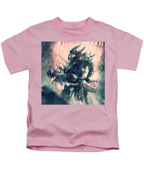 Mercenary Halberdier Kids T-Shirt