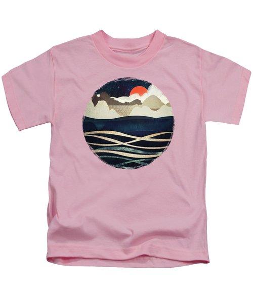 Midnight Beach Kids T-Shirt