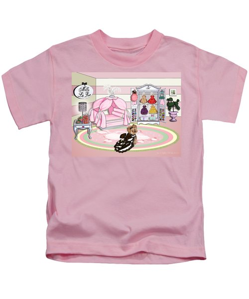Millie Larue's French Room Kids T-Shirt