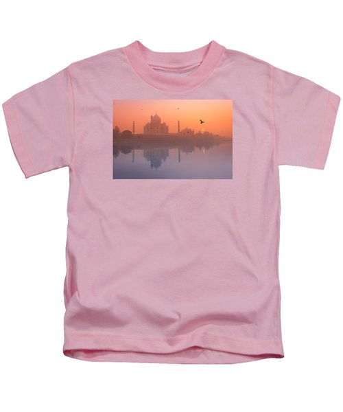 Misty Sunset Kids T-Shirt