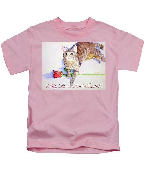 Mocha San Valentin 1 Kids T-Shirt