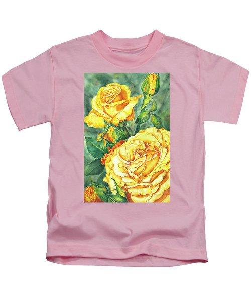 Mom's Golden Glory Kids T-Shirt