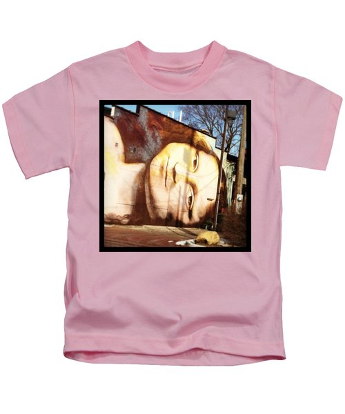 Mona's Facial Expression Kids T-Shirt