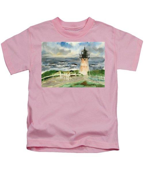 Montara Lighthouse, Plein Air Kids T-Shirt