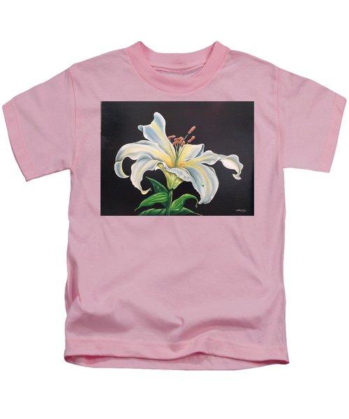 Moon Light Lilly Kids T-Shirt