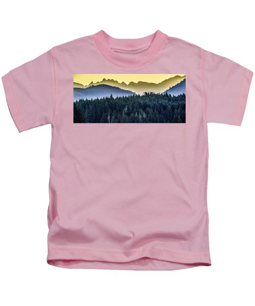 Morning Mountains Kids T-Shirt