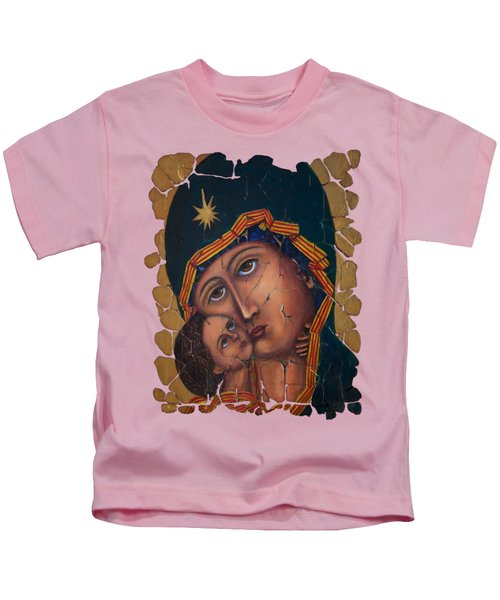 Mother Of God Fresco  Kids T-Shirt